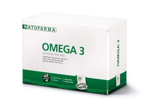 Aceite De Pescado Omega 3 X 30 Cápsulas