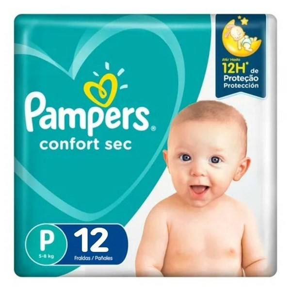 Pampers Confort Sec Max P X12