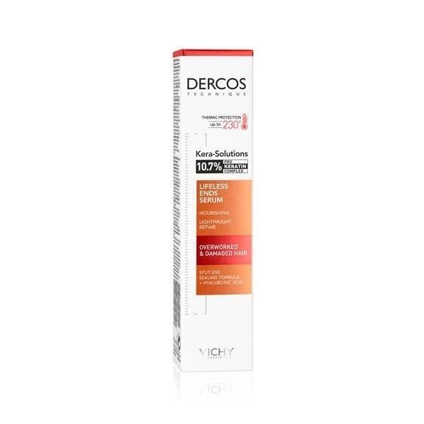 Vichy Dercos Kera-solutions Serum Reparador De Puntas X 40 Ml