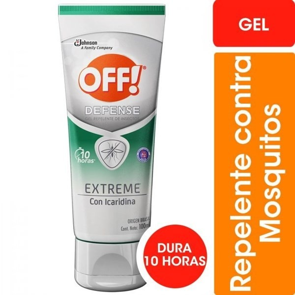 Off Defense Extreme Gel 100 Ml Repelente