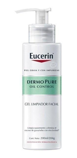 Eucerin Gel Limpiador Dermopure Oil Control x200ml
