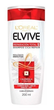 Shampoo Elvive Reparacion Total 5 Cica X 200 Ml