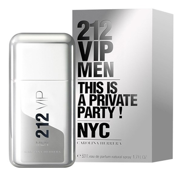 Perfume Carolina Herrera, 212 Vip Men Edt 50ml