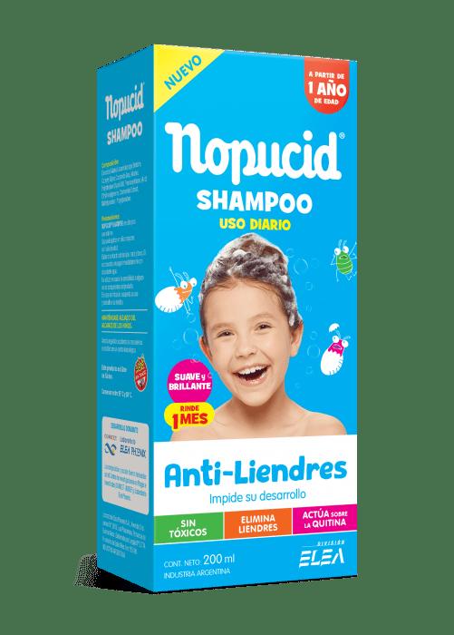 Shampoo Nopucid Uso Diario X 200 Ml