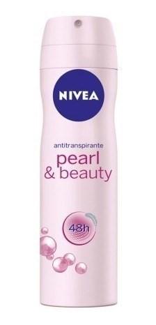Nivea Desodorante En Aerosol Pearl & Beauty 48hs x150ml #1