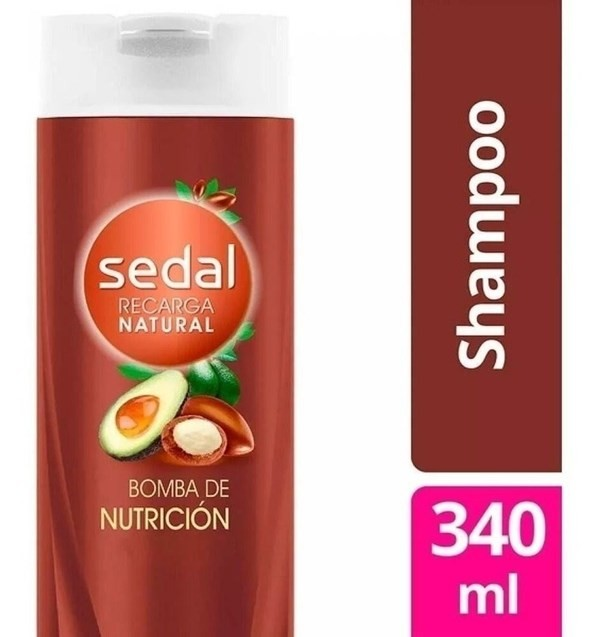 Shampoo Sedal Bomba Nutrición X 340 Ml