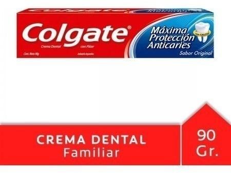Crema Dental Colgate Máxima Protección Anticaries 90g