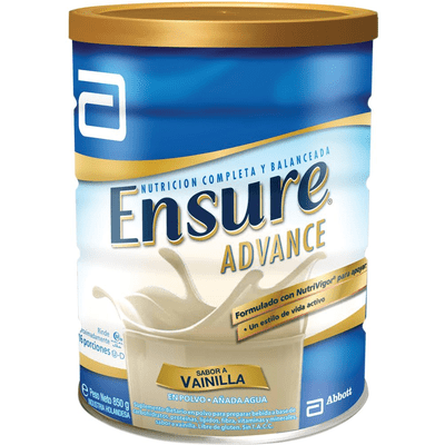 Ensure Advance Vainilla Polvo X 850 Gr