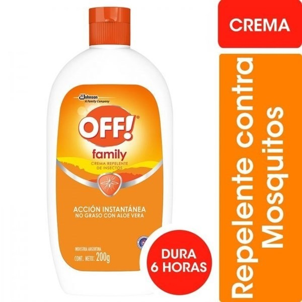 Repelente Off Family Active X 200 Gr