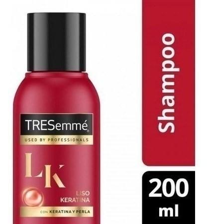 Shampoo Tresemme Liso Keratina X 200 Ml