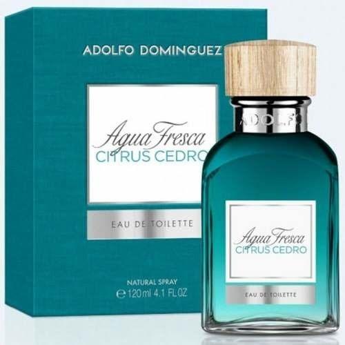 Adolfo Dominguez Agua Fresca Citrus Cedro Men Edt X 120 Ml