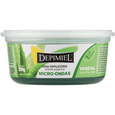 Cera Depilatoria Depimiel Pote Vegetal Micro X 200 Gr