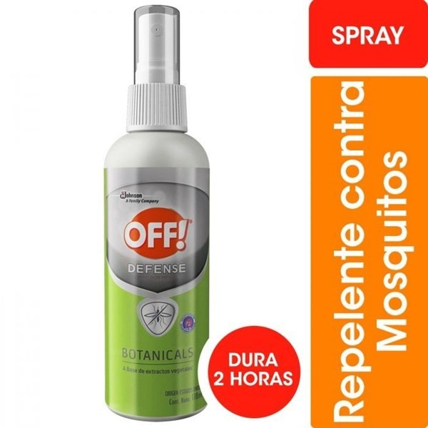 Off Botanicals Spray 120 Ml Repelente