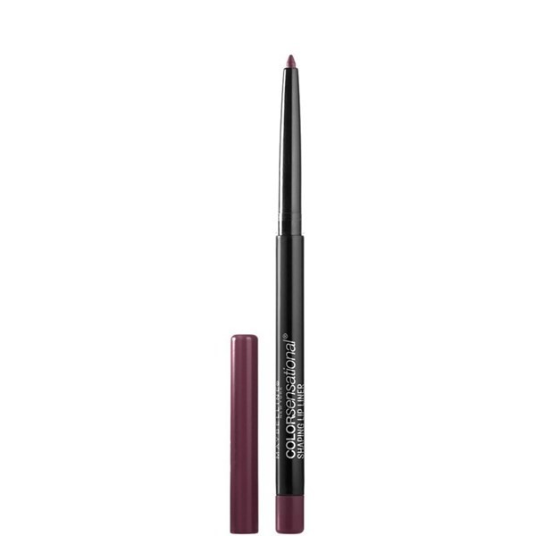 Delineador de labios Maybelline Color Sensational Lip Liner Rich Wine X 1.2 Gr
