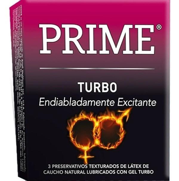 Prime Turbo X 3 Preservativos