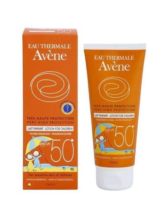 Avene Protector Solar Leche Especial Niños Fps 50+ X 250 Ml