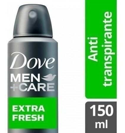 Desodorante Dove Men Care Antitranspirante Extra Fresh X 150 Ml
