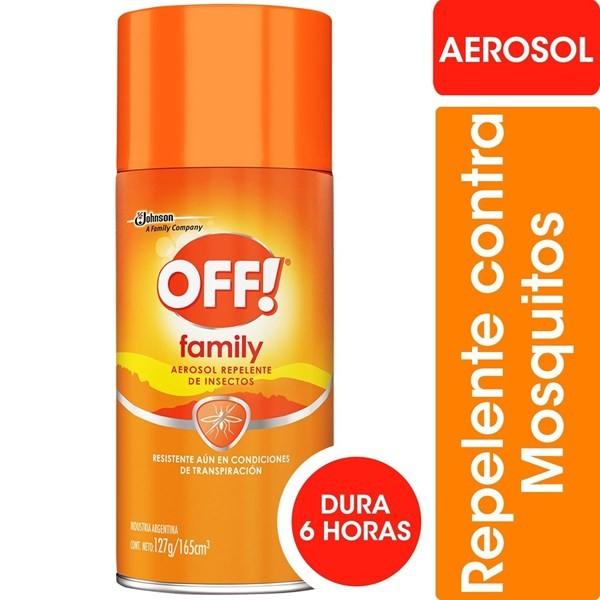 Repelente Off Aerosol X 165 Ml