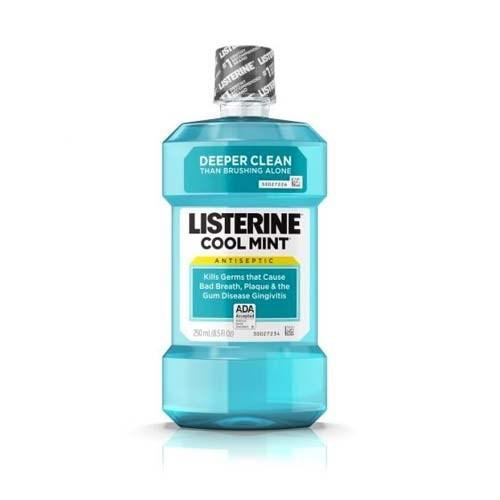Listerine Cool Mint 250 Ml Enjuague Bucal