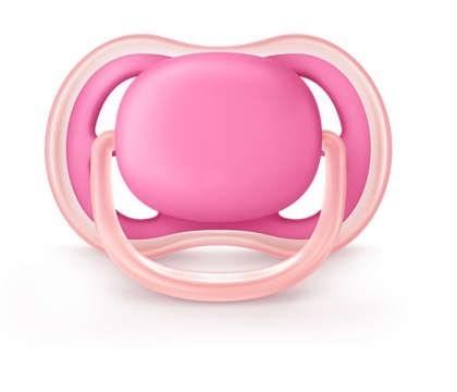 Chupete Ultra Air Rosa 6-18 Meses Avent Nena