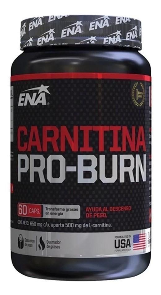 Suplemento ENA Carnitina 1500mg 60 Cápsulas