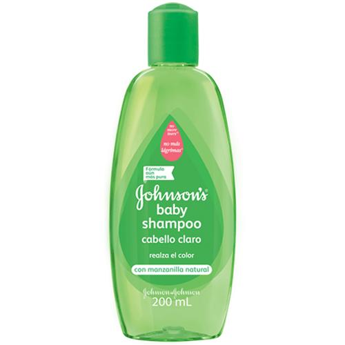 Shampoo Johnsons Baby Cabello Claro X 200 Ml