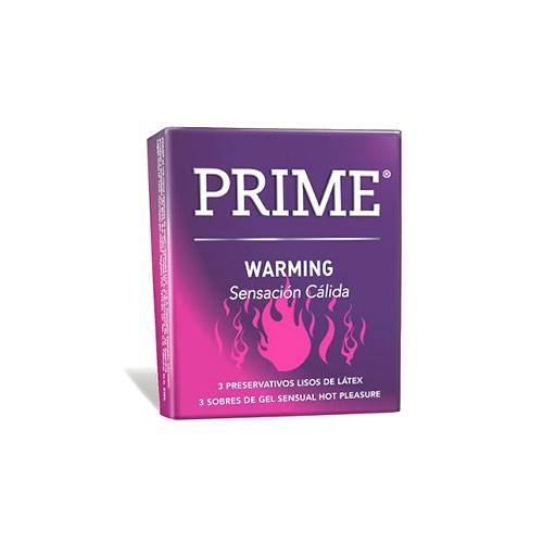 Prime Warming X 3 Preservativos
