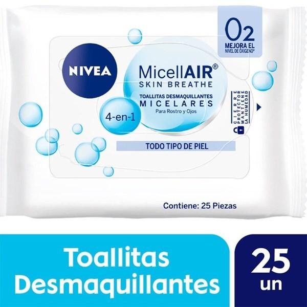 Toallitas Desmaquillantes Nivea Micelares 4 En 1 Todo Tipo De Piel