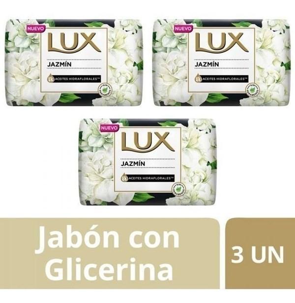 Lux Jabón Jazmin Barra 3un X125g