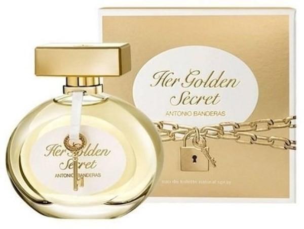 Antonio Banderas Her Golden Secret Edt X 80 Ml