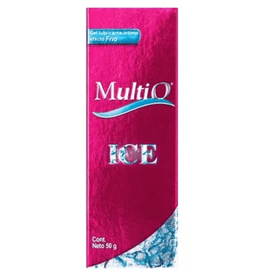 Gel SensualMulti O Estimulante Sexual Femenino Ice X 50 Ml