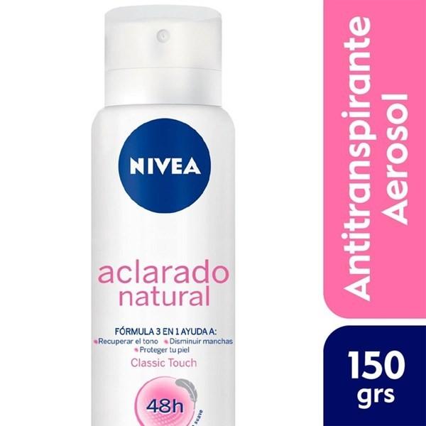 Desodorante Antitranspirante Aclarado Natural Spray