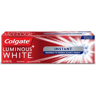 Colgate Crema Dental Luminous White Instan X 70 Gr
