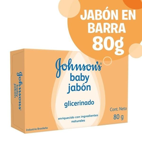 Johnsons Baby Jab Glic Ingred Nat X 80