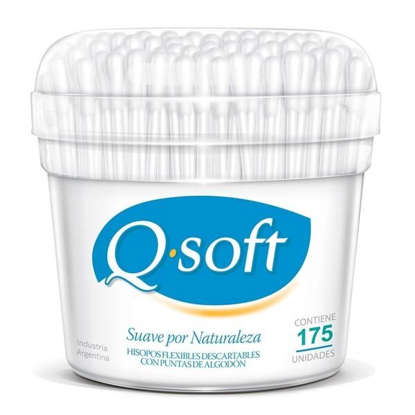 Q-soft Hisopos Familiares X 175un.