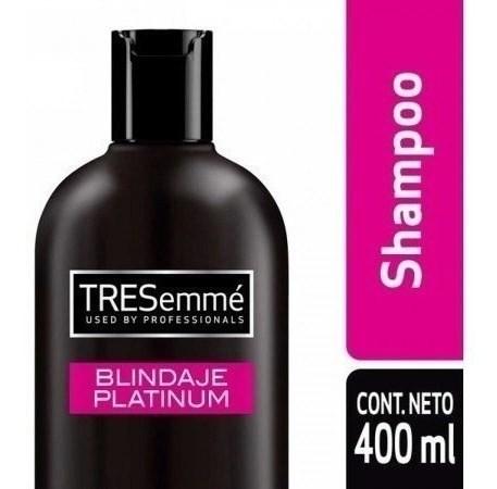 Shampoo Tresemme Blindaje Platinum X 400 Ml