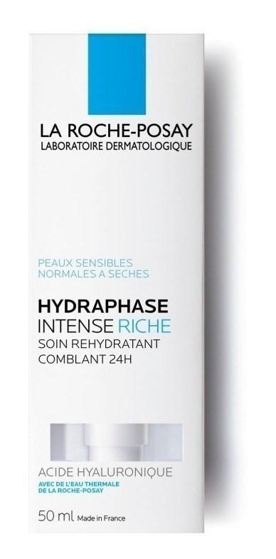 La Roche Posay Hydraphase Intense Riche Tratamiento Rehidrat