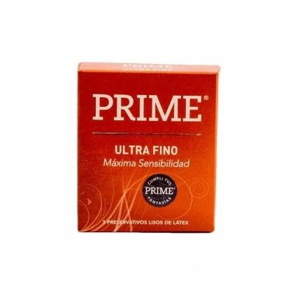 Prime Ultra Fino X 3 Preservativos