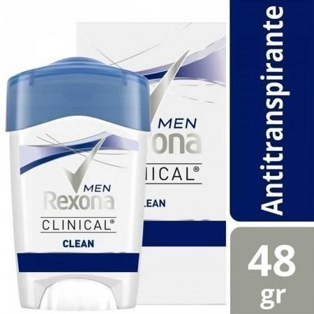 Desodorante Rexona Clinical Clean Antitranspirante 48g