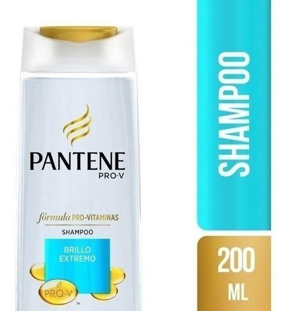 Shampoo Pantene Pro-v Brillo Extremo X 200 Ml