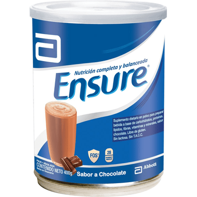 Ensure Chocolate Polvo X 400 Gr
