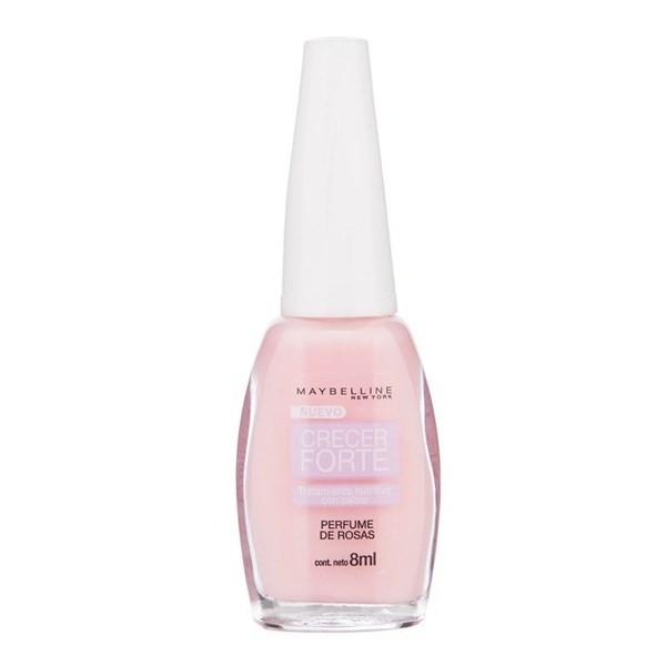 Esmalte Tratamiento Crecer Forte Perfume De Rosas X 8 Ml