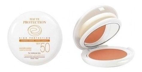 Avene Protector Solar Compacto Color Spf 50+ Dorado X 10 Gr