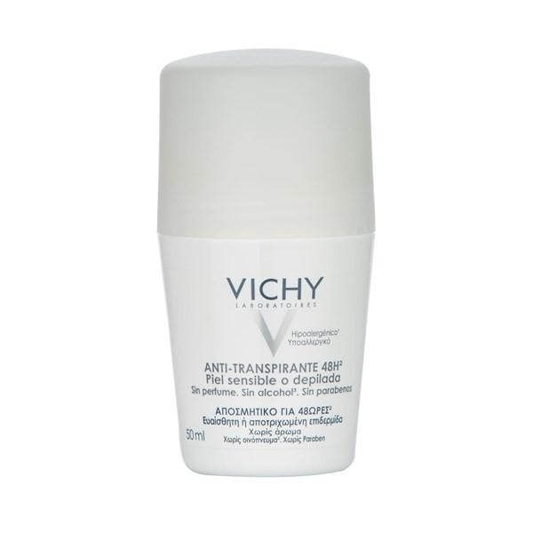Vichy Desodorante De Piel Sensible Anti-transpirante 48hs. Roll-on