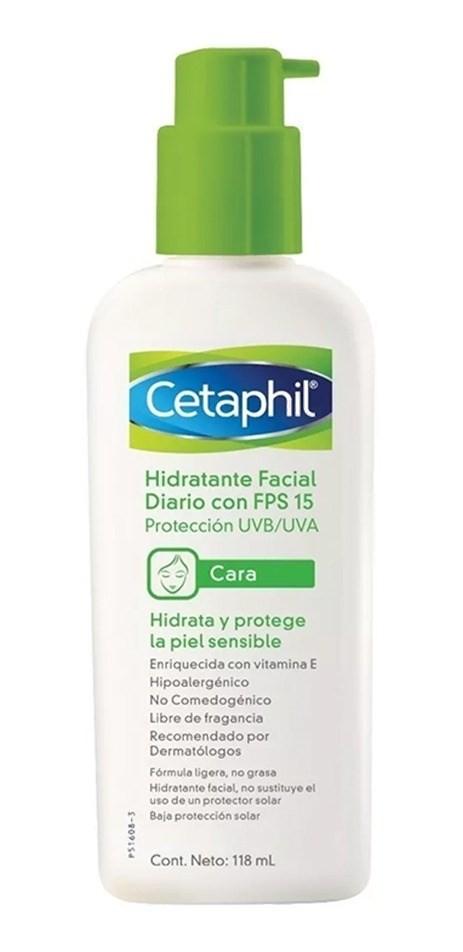 Cetaphil Hidratante Facial Diario Fps 15 118ml