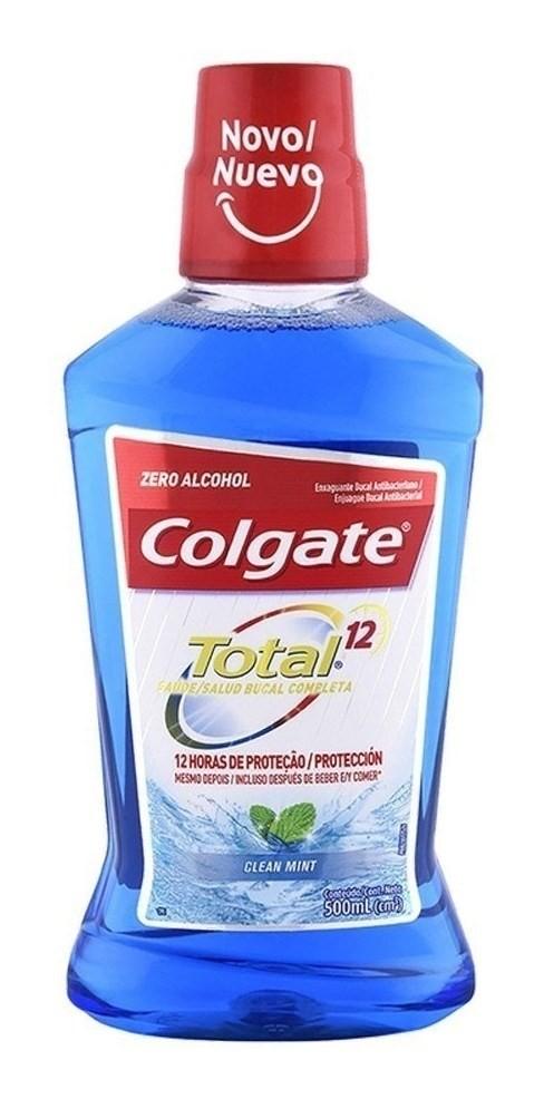 Colgate Enjuague Bucal Total 12 Clean Mint 500ml #1