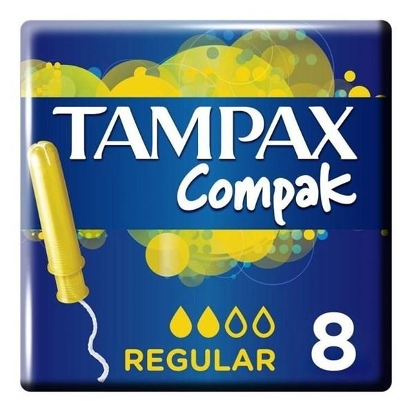 Tampax Tampones Compak Regular X 8 Un