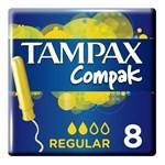 Tampax Tampones Compak Regular X 8 Un #1