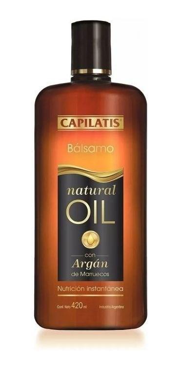 Capilatis Bálsamo Natural Oil X 420 Ml