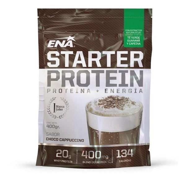 Ena Suplemento Deportivo Starter Proteinx 400grs Choco Cappu